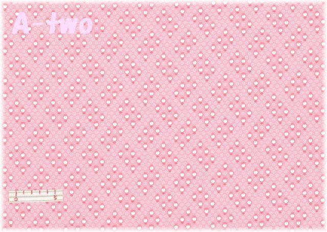 LECIEN Retro 30's Child Smile プチチューリップ ピンク 31441-20 (約110cm幅×50cm)