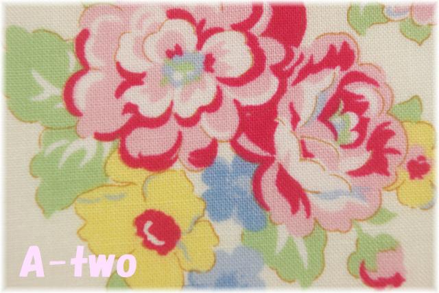 LECIEN Retro 30's Child Smile エレガントフラワー 生成り 31444-10 (約110cm幅×50cm)